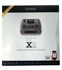 Escort Passport 8500X50 Black Radar Detector Red Display