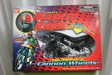 MASKED RIDER TALKING CANNON WHEELS Bike Motorcycle Collectible Bandai Saban NEW