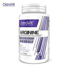 L-Arginine 210g Nitric Oxide NO Booster Pre-Workout Formula Animal Pump Powder