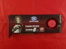 Sapphire HD5870 2G GDDR5 PCI-E Eyefinity 6 Edition Multi-Display graphics card
