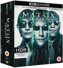 The Matrix Trilogy - (4K Ultra HD + Blu-ray) *NEW*