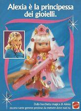 X2193 Alexia - Bacchetta magica - Gemme - Pubblicità 1993 - Advertising