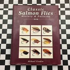 Classic Salmon Flies History & Patterns Mikael Frodin Softcover Fishing Book