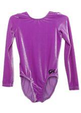 Gk Elite Lavender Velvet Gymnastics Leotard - Axs Adult Extra Small 4307