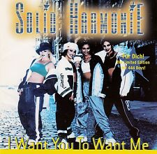 SOLID HARMONIE : I WANT YOU TO WANT ME / 6 TRACK-CD (JIVE/ZOMBA 1998)