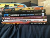 DC Batman Deluxe Edition TPB Lot Hush Loeb Lee Tynion Starlin Brubaker Murphy
