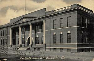 Valdosta Institute, Valdosta, Georgia 1907 Vintage Postcard