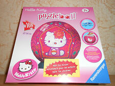 puzzle ball ravensburger 108 pièces HELLO KITTY - sous blister