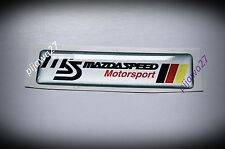 Insignia Emblema Para Mazda Speed Mx3 Mx5 Mx6 Rx7 Rx8 2 3 5 6 Motor Sport pegatina Cx