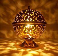 Handmade Moroccan Brass Table Lamp Shades