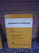 Ergebnisse der Angiologie, Band 11, F. K. Schattauer Ve