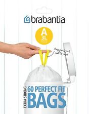 Brabantia basura barbantia 3L Código A 60PC. PACK DISPENSADOR BOLSAS DE RESIDUOS
