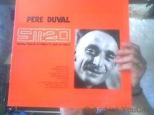 Disque vinyle de Pere Duval recital realise en plublic et avec le public