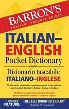 Barron's Italian-English Pocket Dictionary: 70,000 words, phrases & examples pre
