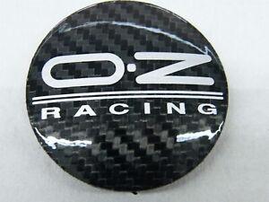 Original OZ Nabenkappen M595 schwarz carbon für Alufelgen Nabendeckel 62/59 mm