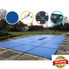 20 Ft. X 44 Ft. Rectangle Blue Solid In-Ground Safety Pool Cover