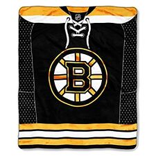 Boston Bruins blanket bedding 50x60 PLUSH FREE SHIPPING NHL Bruins hockey throw