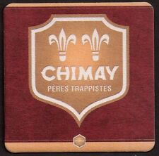 CHIMAY  - TRAPPIST  BEERCOASTER FROM BELGIUM AP17069