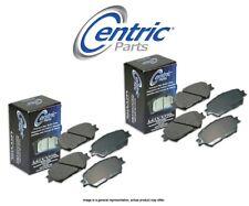 [FRONT + REAR SET] Centric Parts Ceramic Disc Brake Pads CT97644