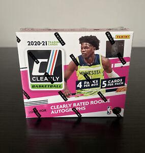 2020-21 Panini Clearly Donruss Basketball Hobby Box (4 Packs/5 Cards)