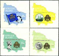 Norfolk Island 1978 SG203-206 Guides set MNH
