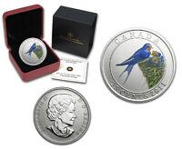 Canada 2011 Colorful Birds - Barn Swallow 25 Cent Color Specimen Quarter