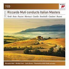 Riccardo Muti - Riccardo Muti Conducts Italian Masters [CD]