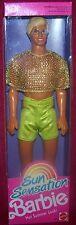 Mattel Sun Sensation Ken In Hot Summer Look 1991 Barbie Doll MIB NRFB
