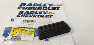 NEW GM OEM PEDAL PAD 15706042 03-20 GM B87