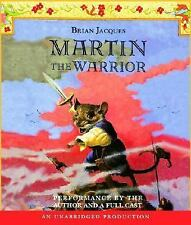 Martin the Warrior  Redwall  Listening Library Audio   2007 by Jacque Ex-library