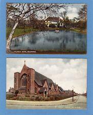2 Becontree Valence House Church Nr Dagenham pcs unused Ref H957