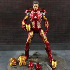 MARVEL SELECT AVENGERS IRON MAN MK43 MARK XLIII ARMOR MODEL ACTION FIGURES TOY
