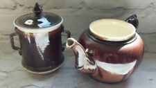 Unboxed Tableware Antique Original Continental Pottery