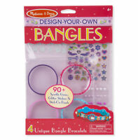 Melissa & Doug Design Your Own Bangles Girls Creative Play Set NEW
