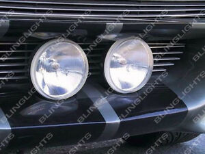 Large Grille Driving Light Kit for Ford Mustang Eleanor Shelby GT-500 Fastback