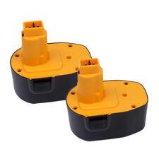 2PACK Battery for DEWALT DC9091 DE9094 DW9094 2.0Ah 14.4VOLT Ni-CD DE9094