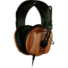 Fostex T60RP Stereo Audiophile Headphones w African Mahogany Wood Cups Open Box