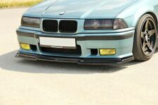 BMW E36 M3 Clase 2 Spoiler Delantero Alto Brillo Negro Labio Difusor FD1G