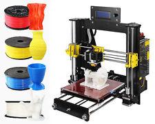 DIY 3D printer LED display large desktop 3D printer, with Free Filament+CD