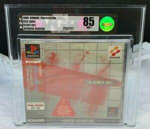 PS1 PlayStation 1 Japan Silent Hill First Print Brand New Sealed VGA 85 WATA 9.4