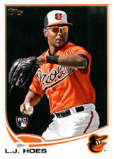 L.J. Hoes 2013 Topps #148 Orioles ID:32048