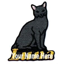 Bombay Cat Custom Iron-on Patch With Name Personalized Free