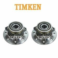 For Dodge Ram 3500 Pair Set of 2 Front Wheel Bearings & Hub Assemblies Timken