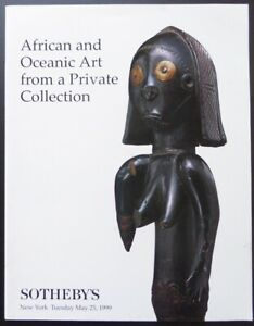 African and Oceanic Art, Sotheby's, New York, 25 Mai 1999