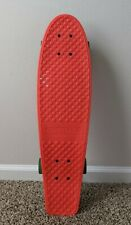 "Kryptonics Torpedo Board Complete Skateboard - Red (28"" x 7.5"")"