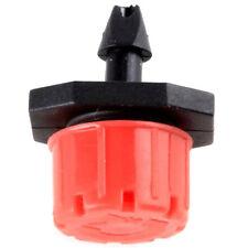 50pcs Adjustable Irrigation Sprinklers Emitter Drip System 4mm/ 7mm LW