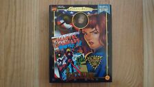 """1998 Famous Cover Series Black Widow 8"""" Ultra Poseable Figure Doll"""