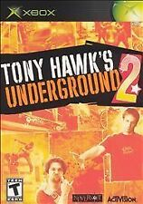 Tony Hawk's Underground 2 (Microsoft Xbox, 2004)  Complete   Fast Shipping !!!