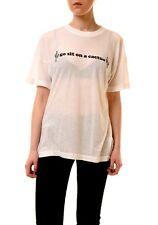 Wildfox Women's New Go Sit On Cactus NWT Top Tee White Size M RRP £69 BCF74