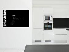 120x80 cm (50,99 € / qm) Tafelfolie Einkaufsliste für Kreidemarker